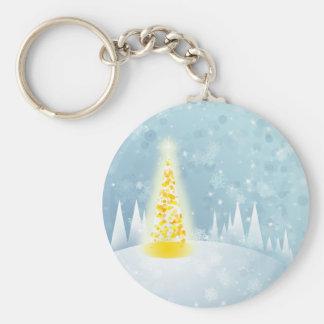 Christmas Snow Keychain