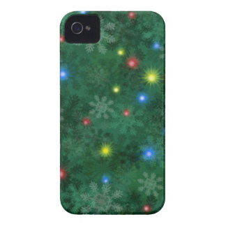 Christmas Snow Lights iPhone 4 Case-Mate Case