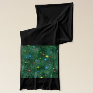 Christmas Snow Lights Scarf