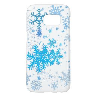 Christmas Snowfall Samsung Galaxy S7 Case