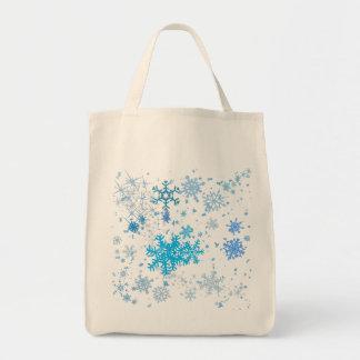 Christmas Snowfall Tote Bag