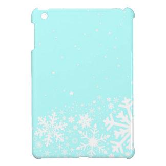 Christmas Snowflake Background iPad Mini Cover