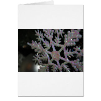 CHRISTMAS SNOWFLAKE CARD