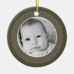 Christmas Snowflake: Double-Sided Photo Christmas Ornament