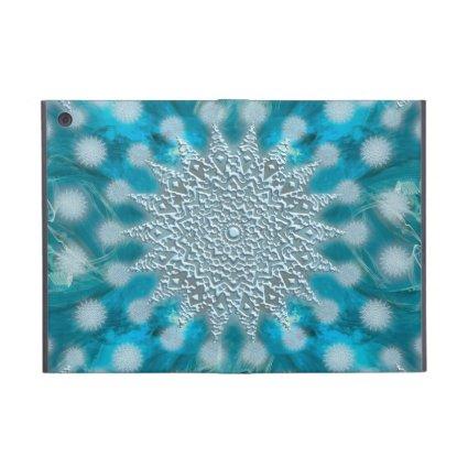 Christmas Snowflake Fractal Art iPad Mini Cover