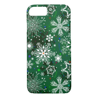 Christmas snowflake iPhone 7 barely there case