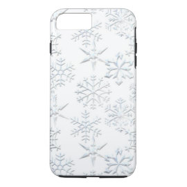 Christmas Snowflake iPhone 7 plus tough case