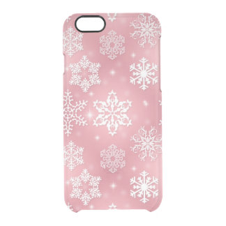 Christmas snowflake pattern iPhone 6 uncommon case