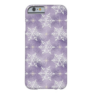 Christmas Snowflake pattern iPhone six slim case Barely There iPhone 6 Case