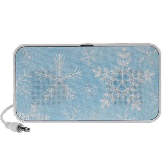 Christmas Snowflake Pattern Portable Speaker