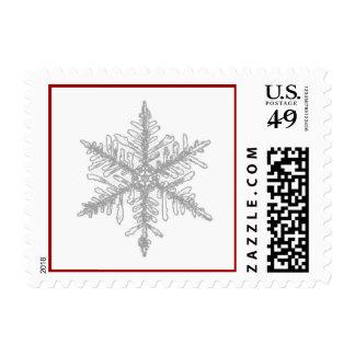 Christmas Snowflake Postage