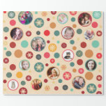 Christmas Snowflakes 14 Favorite Family Photos Gift Wrapping Paper