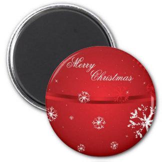 Christmas Snowflakes 2 Magnet