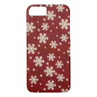 Christmas Snowflakes iPhone 7 Case