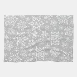 Christmas Snowflakes Kitchen Towel