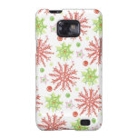 Christmas Snowflakes Samsung Galaxy S Case