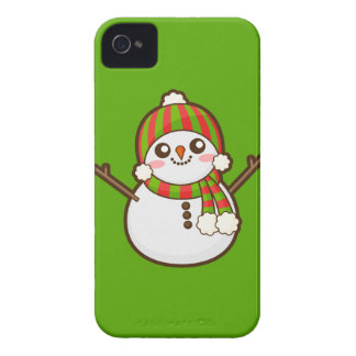 Christmas Snowman Case-Mate iPhone 4 Case