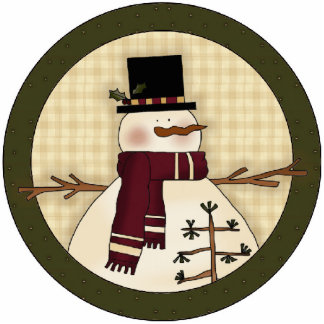 Christmas Snowman Christmas Tree Ornament