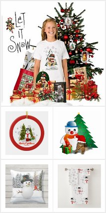Christmas Snowman Gifts and Cards
