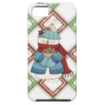 Christmas Snowman iPhone5 case mate vibe iPhone 5 Cover