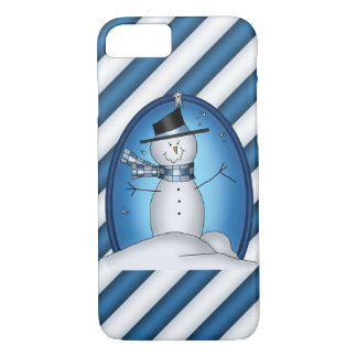 Christmas Snowman iPhone 7 barely there case