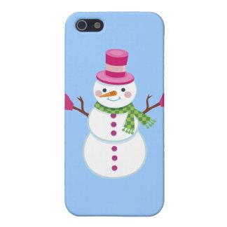 Christmas Snowman iPhone Case