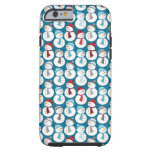 Christmas Snowman Pattern iPhone 6 Case