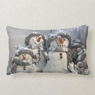 Christmas snowman pillow