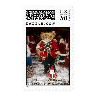 Christmas Snowman Stamp