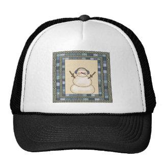 Christmas Snowman Trucker Hat