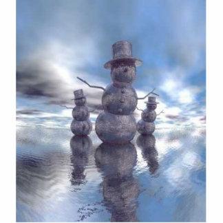 christmas snowmen cutout
