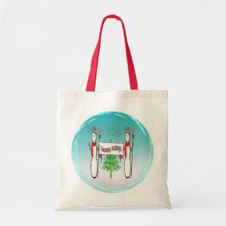 Christmas - Snowmen, Happy Holidays Bag