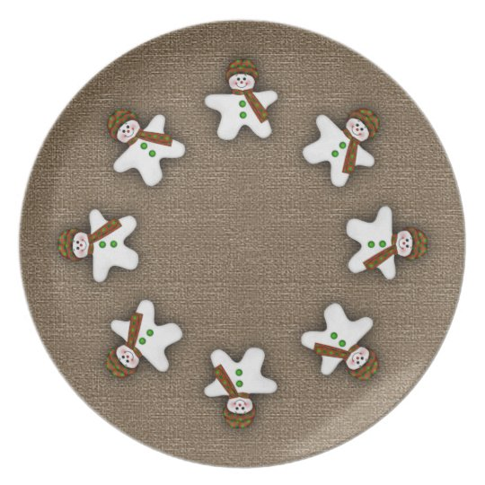 Christmas Snowmen Holiday Collector's Plate
