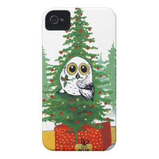Christmas Snowy Owl Case-Mate iPhone 4 Case