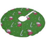 Christmas Snuggle Westies Tree Skirt