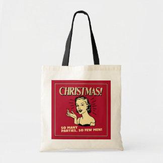 Christmas: So Many Parties, So Few Men Bag