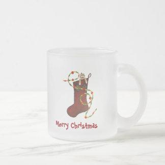 Christmas Sock Monkey Mug