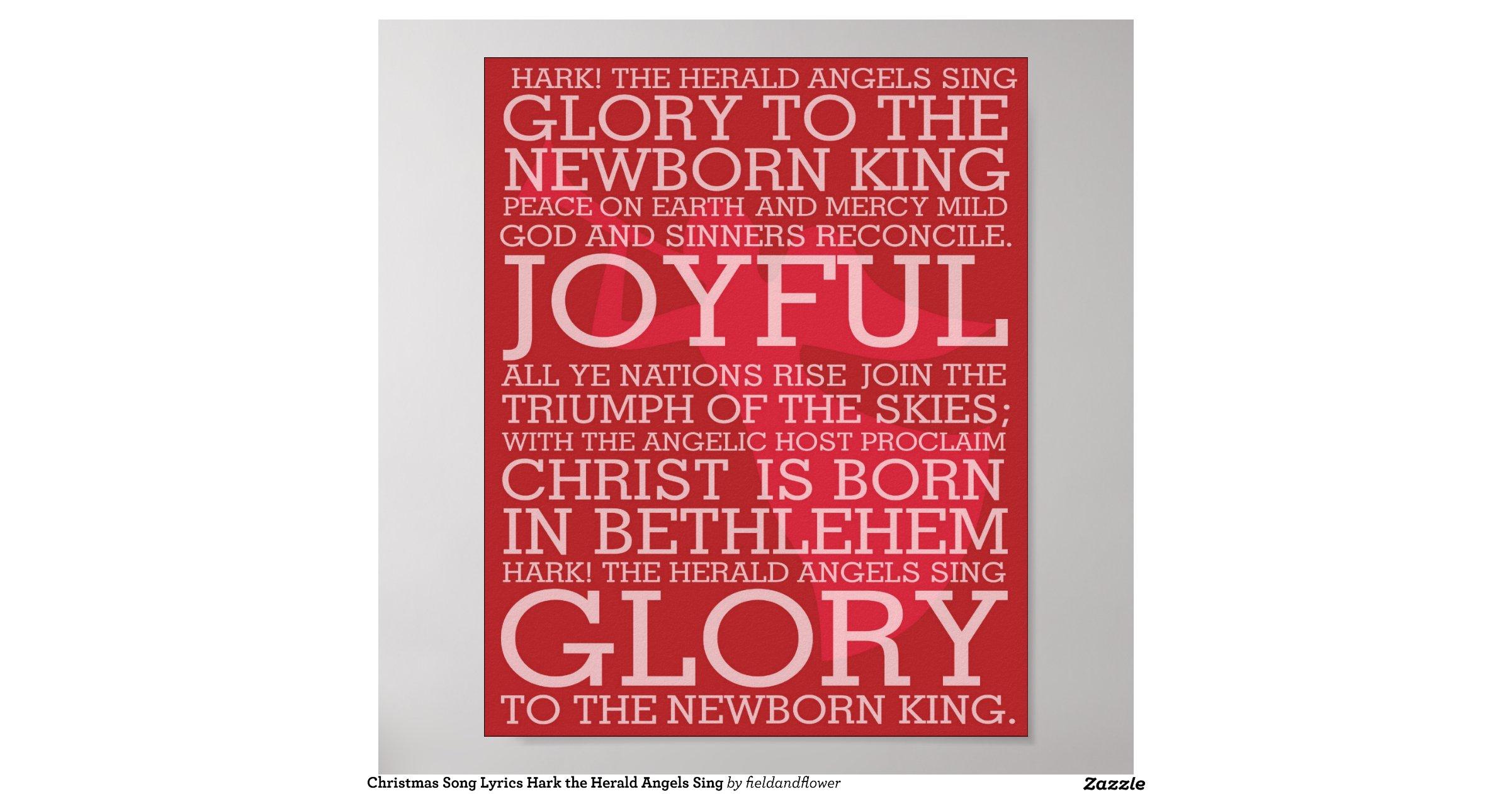 christmas_song_lyrics_hark_the_herald_angels_sing_poster-rfabbd344571142ada7c9b37f79b1d5be_wva ...