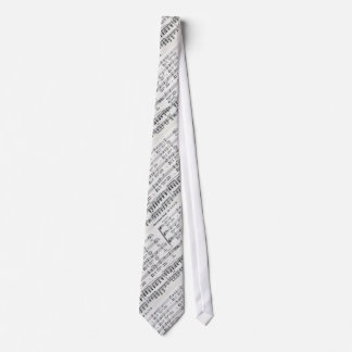 Christmas Song Sheet Music Tie