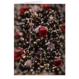 Christmas Sparkles Card - Customized