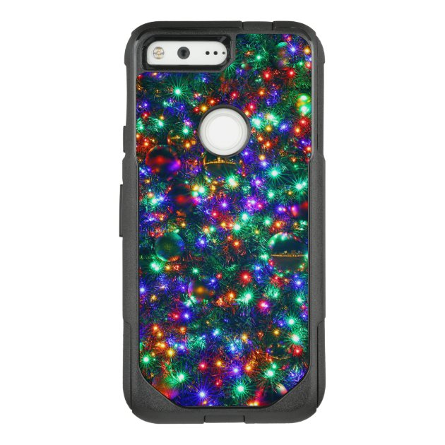 Christmas Sparkling Stars Otter Box Commuter Google Pixel Case by Savvy Things Design