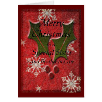 Christmas Special Sister Card