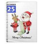 Christmas Spiral Notebooks
