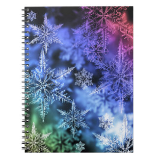Christmas Spiral Photo Notebook
