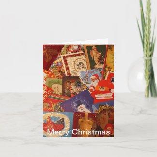 Christmas spirit greeting cards