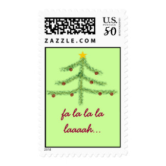 Christmas Spirit Holiday Postage