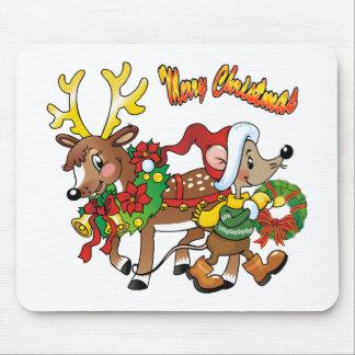 Christmas Spirits Mouse Pad