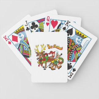Christmas Spirits Playing Cards