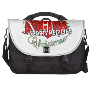 CHRISTMAS SPORTS MEDICINE DOCTOR LAPTOP BAGS