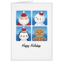Christmas Squares Cards